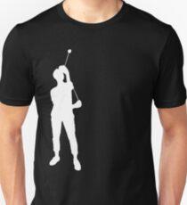 Yoyo Single A Silhouette White T-Shirt