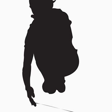 Yoyo Jump Silhouette Black by yoyoacq