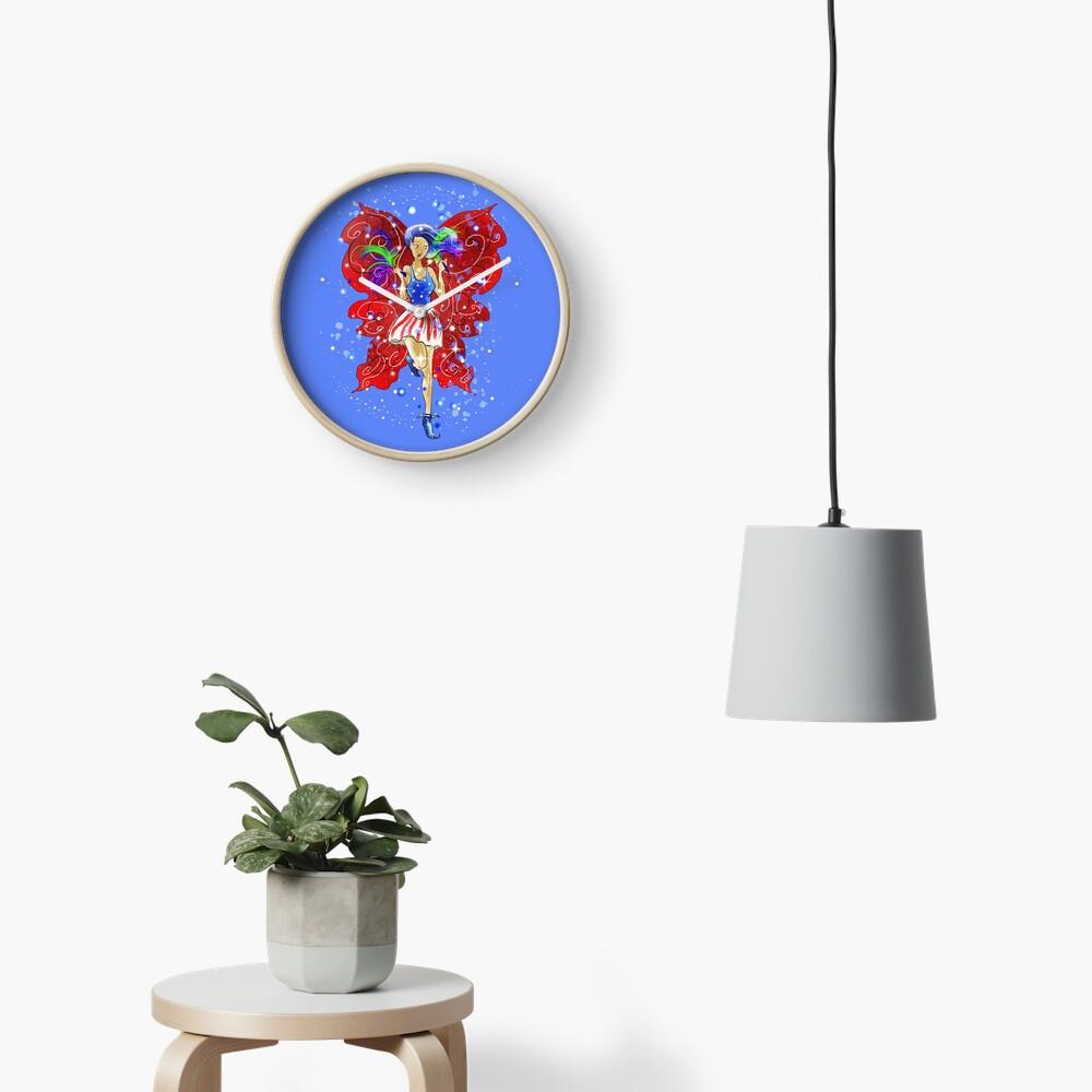 Patriotic Patsy The 4th Of July Fairy™ Clock