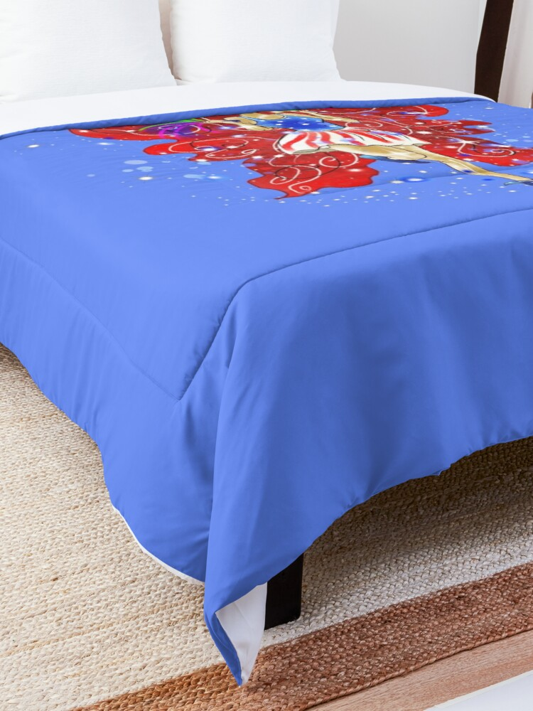Alternate view of Patriotic Patsy The 4th Of July Fairy™ Comforter