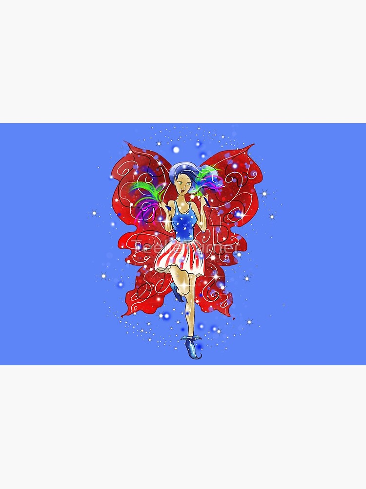 Patriotic Patsy The 4th Of July Fairy™ by TeelieTurner