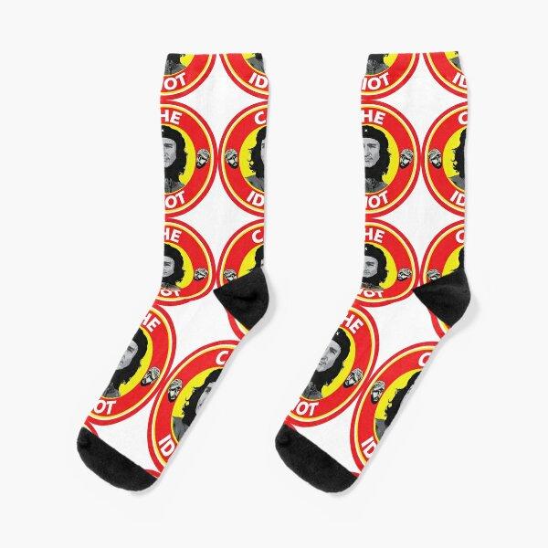 Che Idiot with Fidel Socks