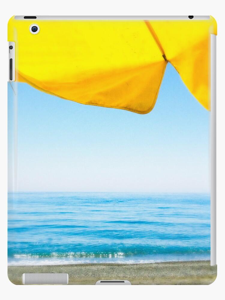 Sunshade and Sea by eyeshoot