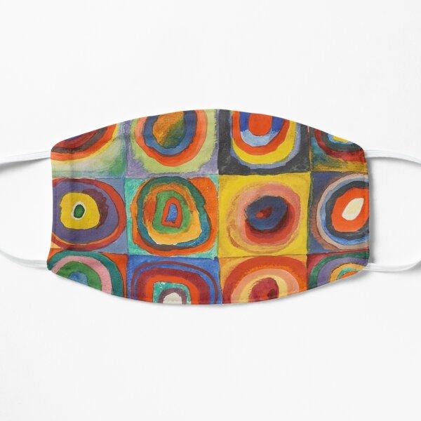 Carrés de couleurs Kandinsky Masque sans plis