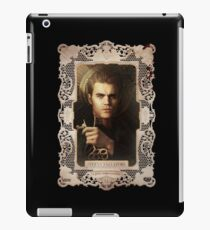 vampire diaries Stefan Salvatore iPad Case/Skin