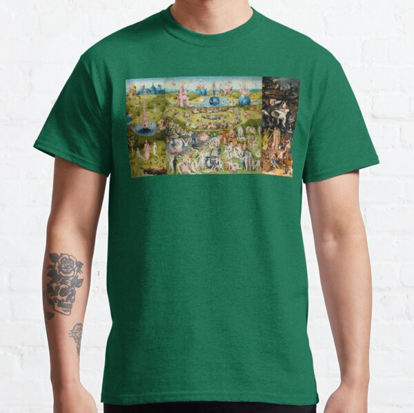 Hieronymus Bosch The Garden Of Earthly Delights  Classic T-Shirt