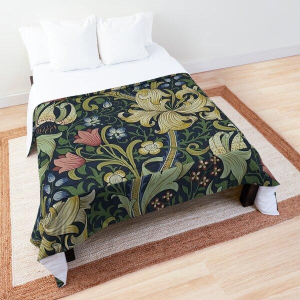 William Morris Golden Lily pattern Comforter