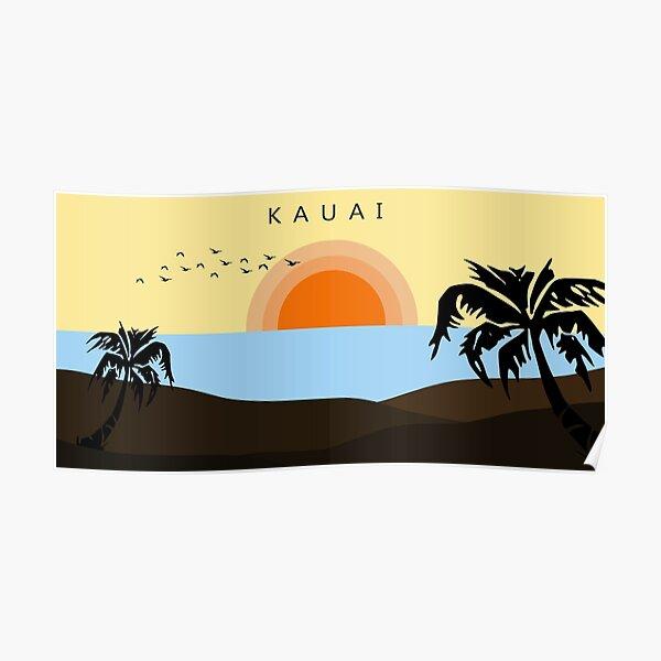 Kauai Landscape Poster