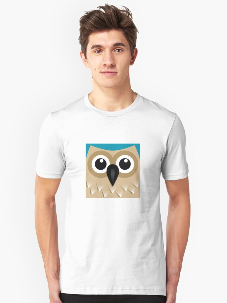 Wise Old Owl - T Shirt Unisex T-Shirt Front
