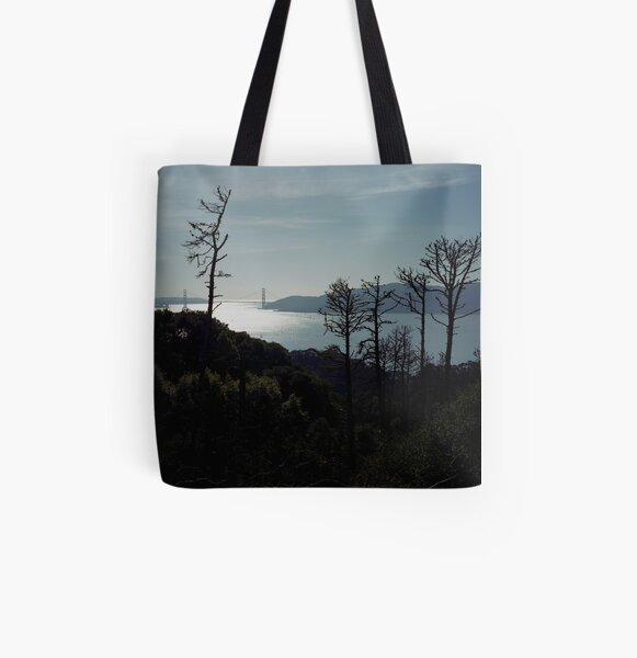 Angel Island All Over Print Tote Bag