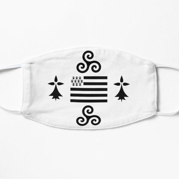 100% breton Masque sans plis