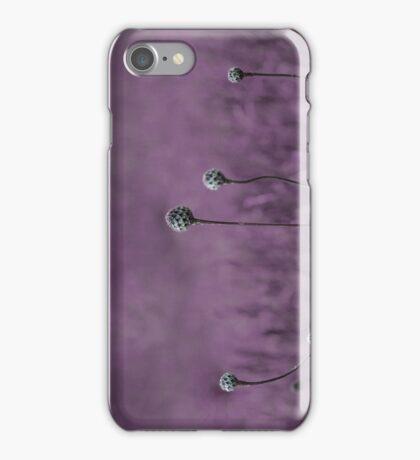Purple garden iPhone Case/Skin