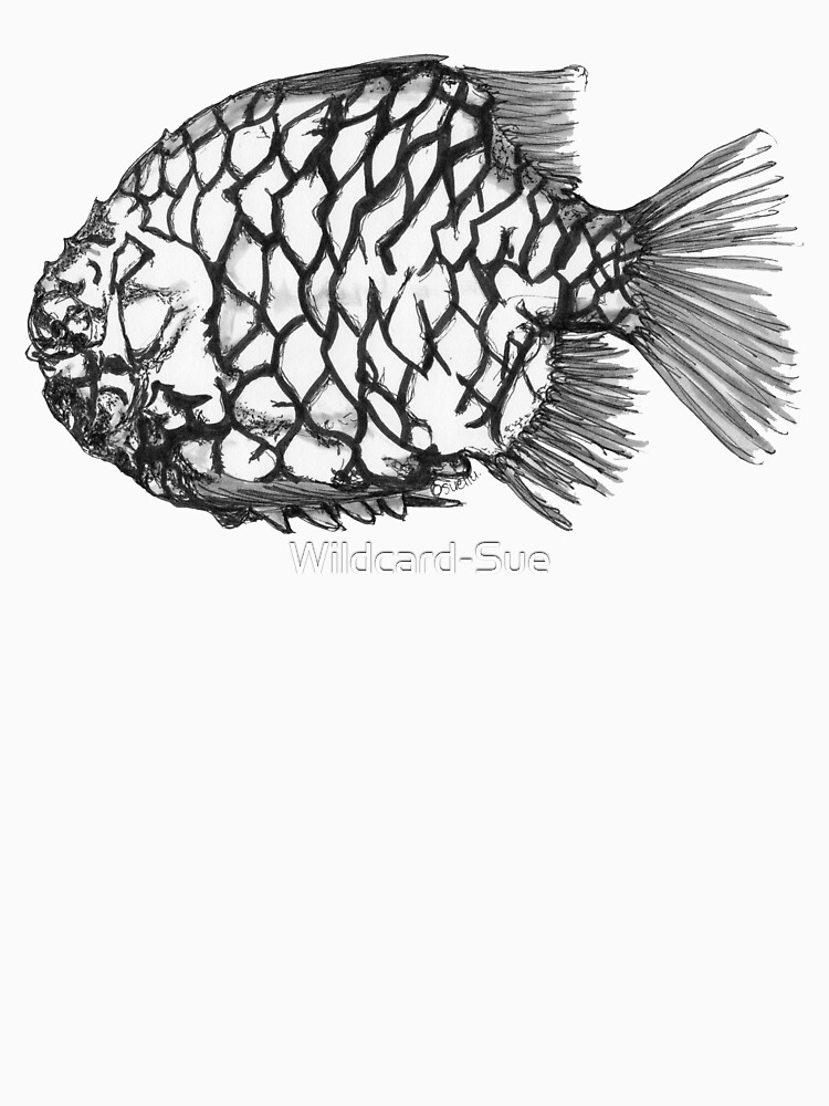 Bridget the Pineapple Fish by Wildcard-Sue