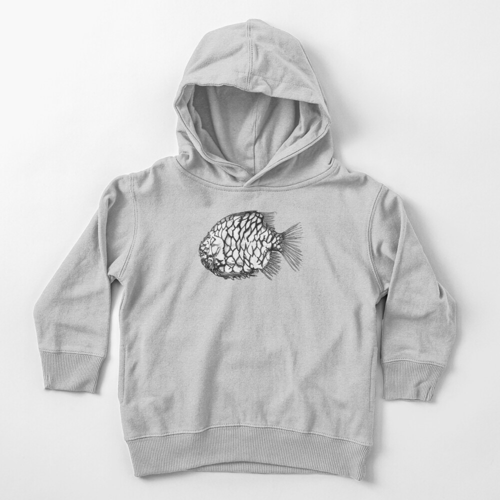 Bridget the Pineapple Fish Toddler Pullover Hoodie