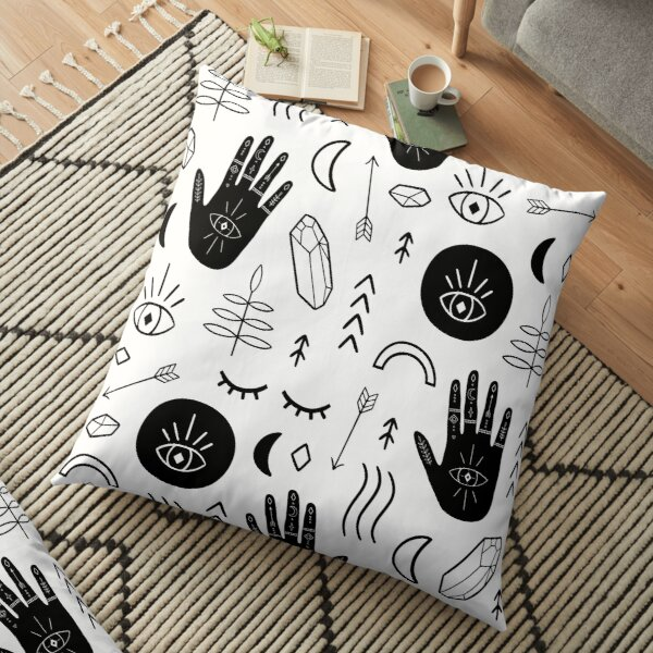 Getting Witchy With It Floor Pillow