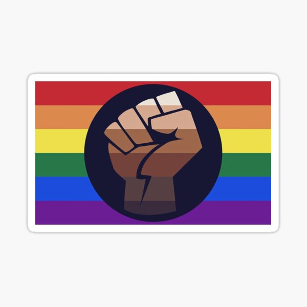 LBGT+ BLM Sticker