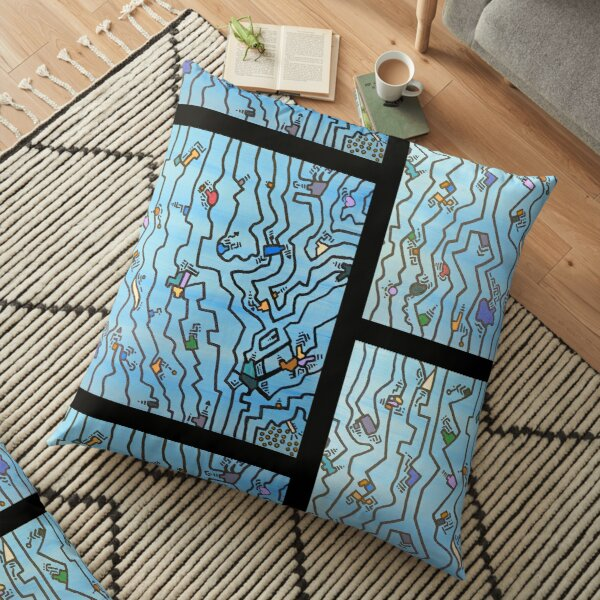 If These Lines Make Sense Floor Pillow