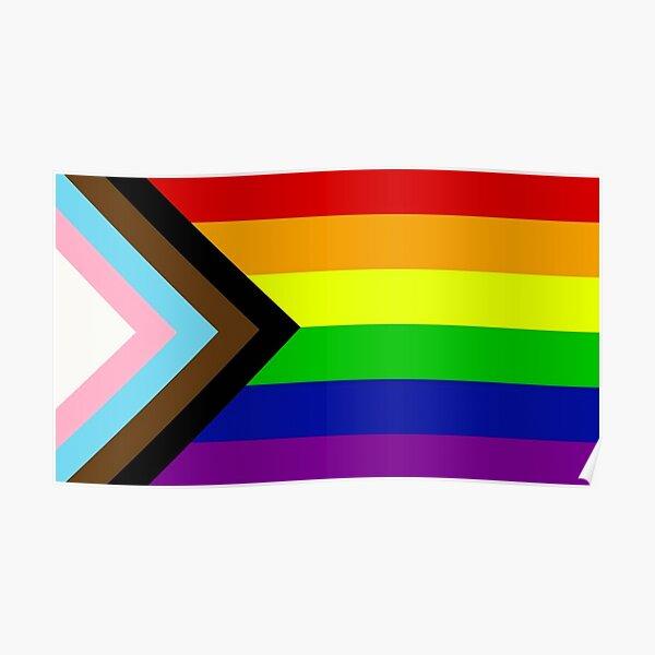 Rainbow flag 2020 Daniel Quasar  Poster