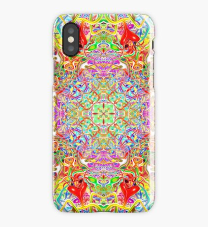 Quatrain Hearts iPhone Case
