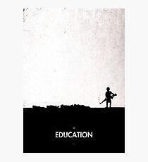99 Steps of Progress - Education Photographic Print