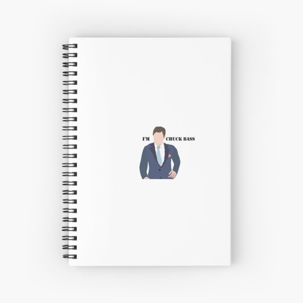 Chuck Bass Cuaderno de espiral