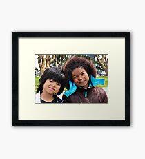 Cousins! Framed Print