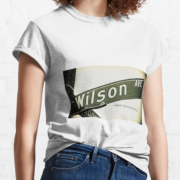 Wilson Avenue (Official), Pasadena, California by Mistah Wilson Classic T-Shirt