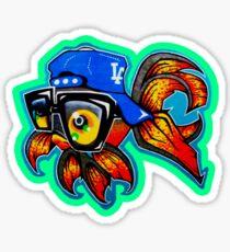 Graffiti Fish Sticker