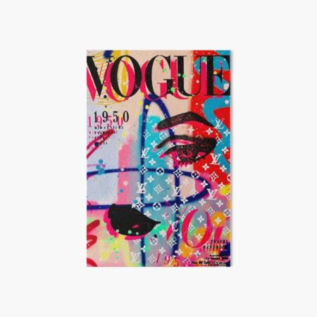 Vogue Cover Art Board Print