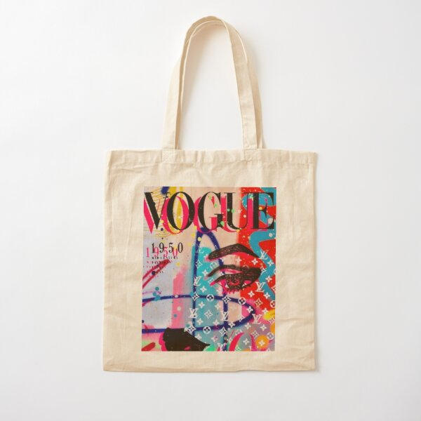 Vogue Cover Cotton Tote Bag