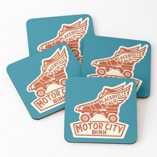 Motor City Rink Coasters (Set of 4)
