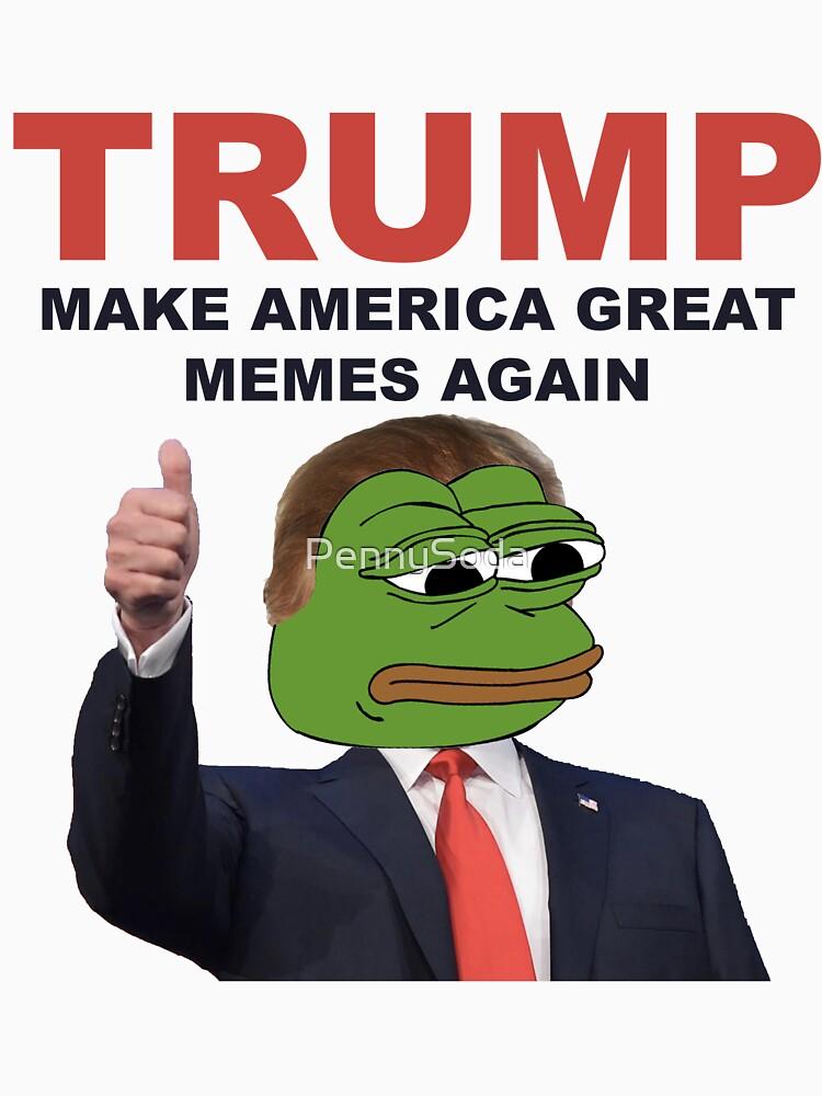 Donald Trump Pepe Frog | Unisex T-Shirt
