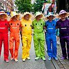 Hamburg Pride Parade by Aaron Holloway