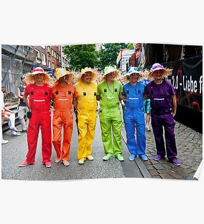 Hamburg Pride Parade Poster
