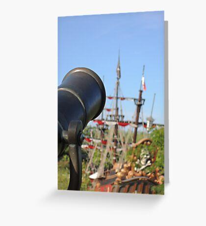 Pirates Ahoy! Greeting Card