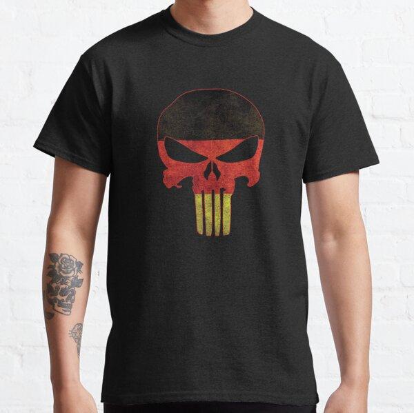 German Flag Skull Classic T-Shirt