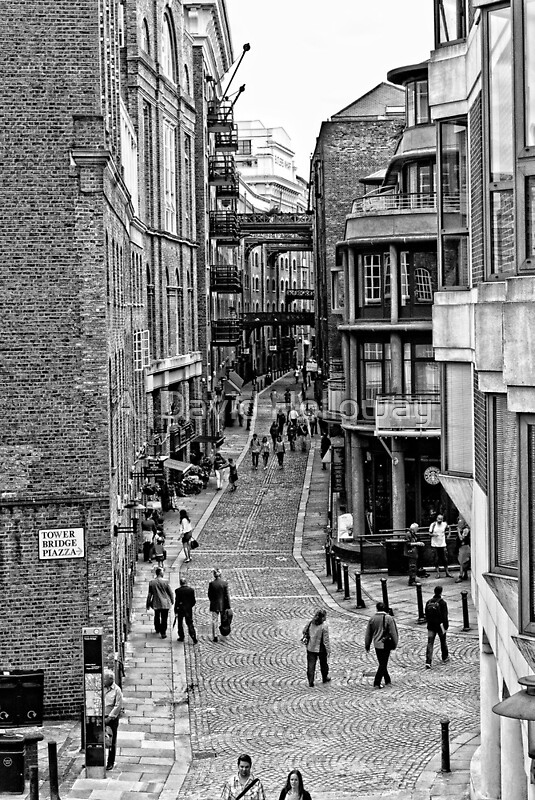 Quot Old London Street Quot By Aaron Holloway Redbubble