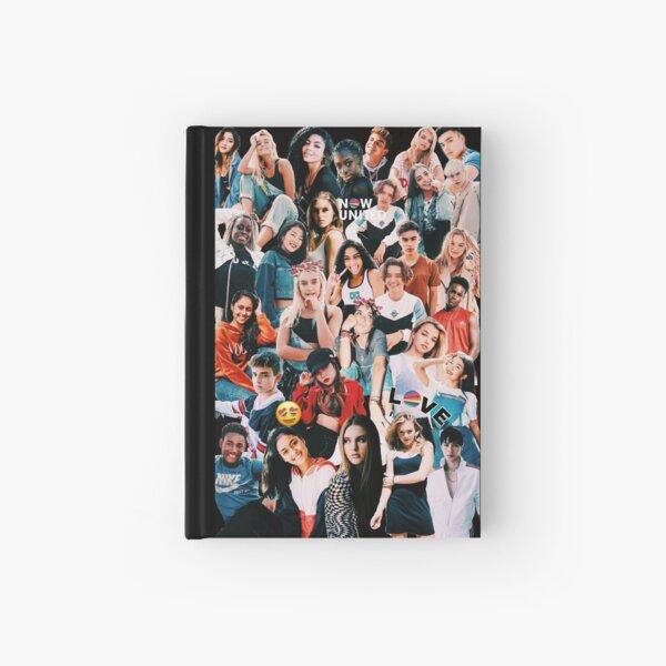 Jetzt vereinte Collage Notizbuch