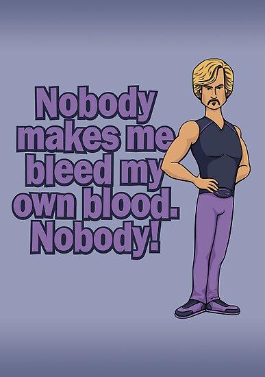 Bleed my own Blood by DoodleDojo
