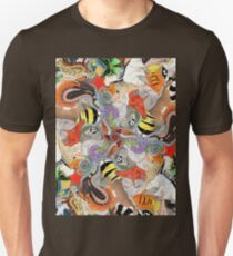 Complementary Tessellation Unisex T-Shirt