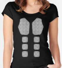 Mens armour Women's Fitted Scoop T-Shirt