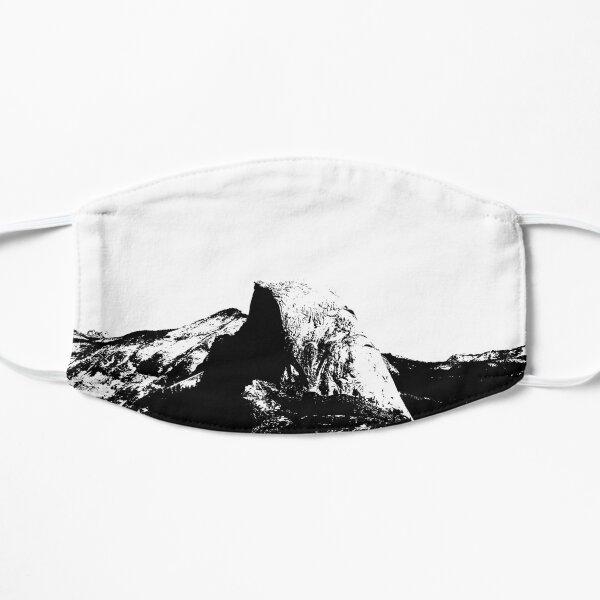 Half Dome in Yosemite National Park Flat Mask