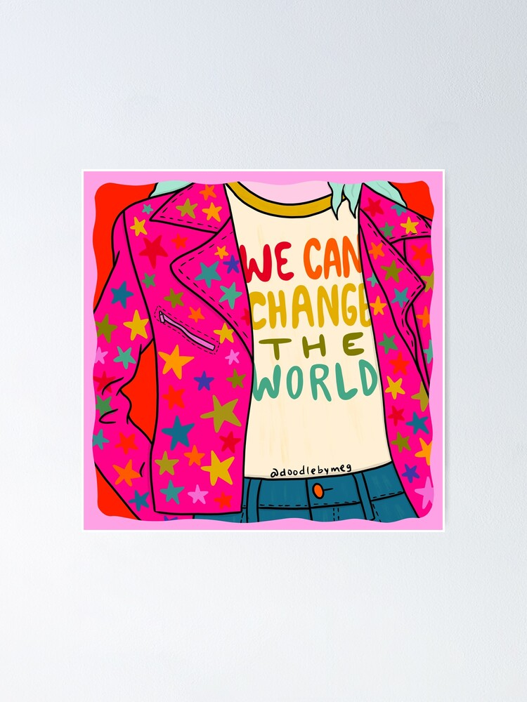 Alternate view of We Can Change the World Poster