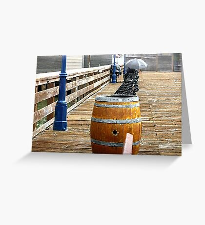 Sittin' On The Dock Of The Bay.. Greeting Card
