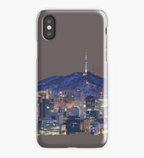 Seoul Cityscape iPhone Case/Skin
