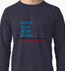 Surname Blues - Brown, Davis, Miller & Wilson Lightweight Sweatshirt