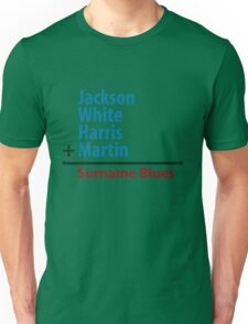 Surname Blues - Jackson, White, Harris, Martin T-Shirt