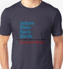 Surname Blues - Jackson, White, Harris, Martin Unisex T-Shirt