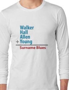 Surname Blues - Walker, Hall, Allen, Young T-Shirt