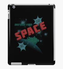 Greetings from Space iPad Case/Skin